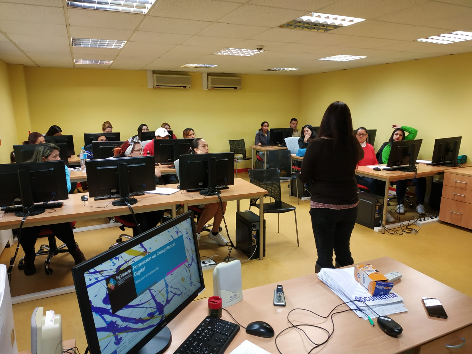InCommon, training on Key Competences for migrant women
