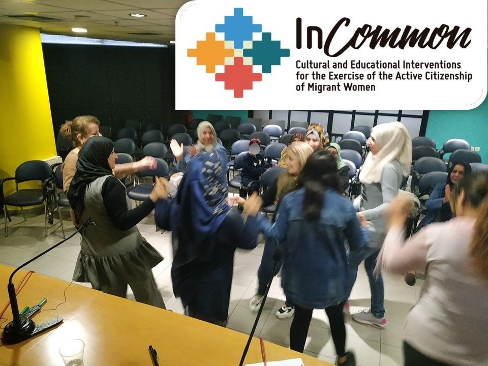 The refugee women in Greece prepared their participation in the InCommon Virtual Events!