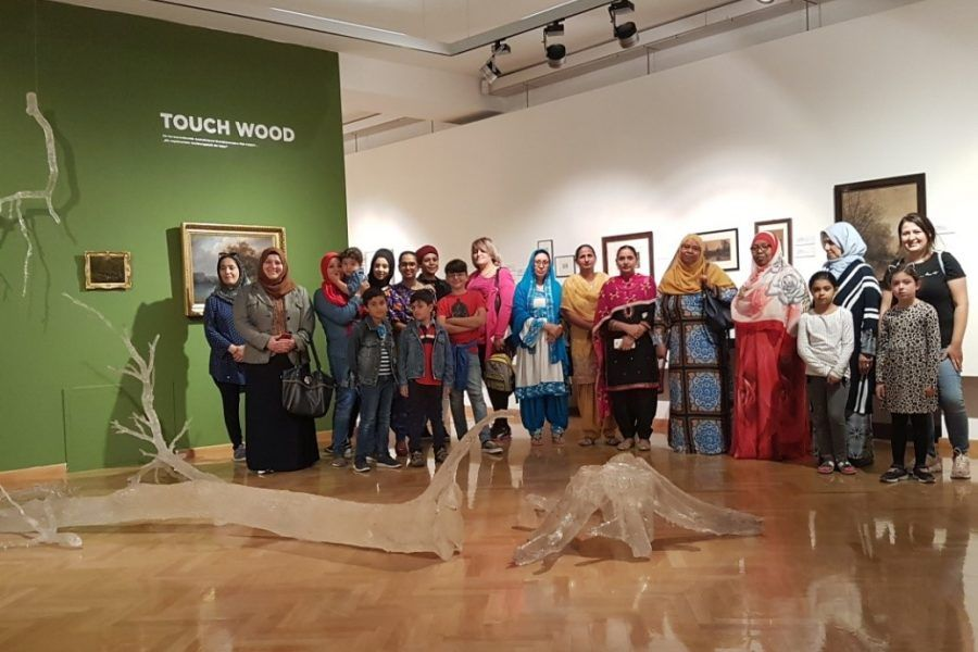 ART EXHIBITION: TOUCH WOOD, City Art Gallery, Klagenfurt, Austria